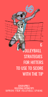 Six Volleyball Strategies for Hitters To use To Score With The Tip by April Chapple