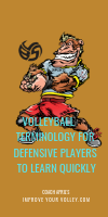 Volleyball Terminology For Defensive Players To Learn Quickly by April Chapple