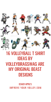 16 Volleyball TShirt Ideas by Volleybragswag Are My Original Beast Designs by April Chapple