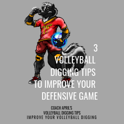 3 Volleyball Digging Tips To Improve Your Defensive Game: Coach April's Volleyball Setting Tips: Improve Your Volley.com