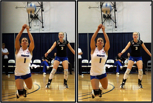 Funny Volleyball Jargon: Some players who want to compliment a teammate who's digging well say that player is