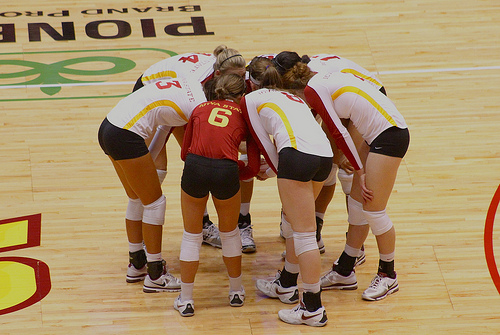 Volleyball Communication Words: How are teammates supposed to know