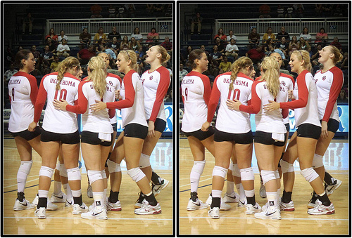 General volleyball rules about uniforms: Oklahoma Sooners volleyball team