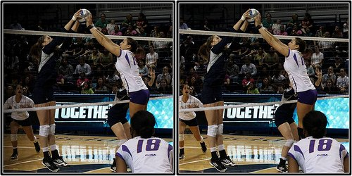How to spike volleyball balls with 3 tactics: tip the ball short, tip it deep, roll shot, or cut shot when you need to score points in difficult situations.