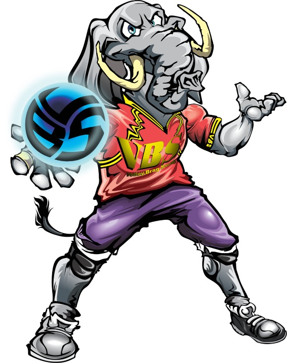 Cool Volleyball TShirts By Volleybragswag Are Beast Inspired Attire created in 2013 by April Chapple. Meet EJ the Volleybragswag Elephant, backrow hitter specialist.