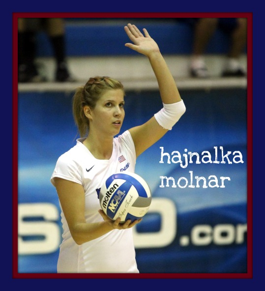 Meet Hajnalka Molnar the college volleyball setter for the University of Memphis team.