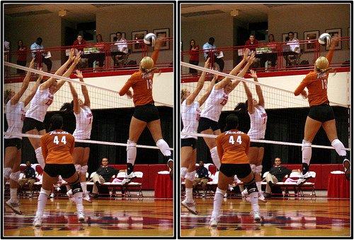 Volleyball Block Technique: