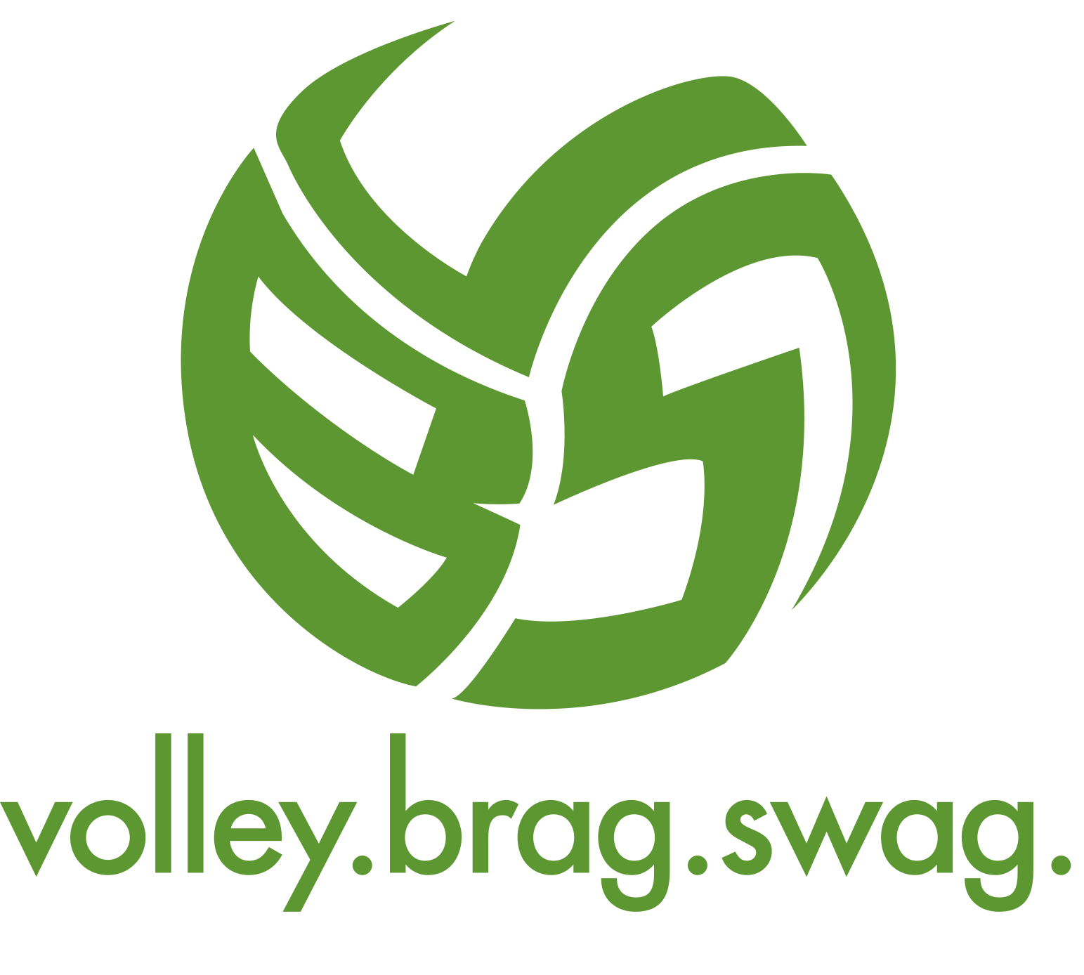 Volleyball T-Shirt Ideas By Volleybragswag Is Beast Inspired Attire created in 2013 by April Chapple. The Volleybragswag ball logo design.