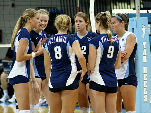 There's no getting around it, if you play volleyball, then you are going to have to learn to be vocal and communicate on the court with your teammates.