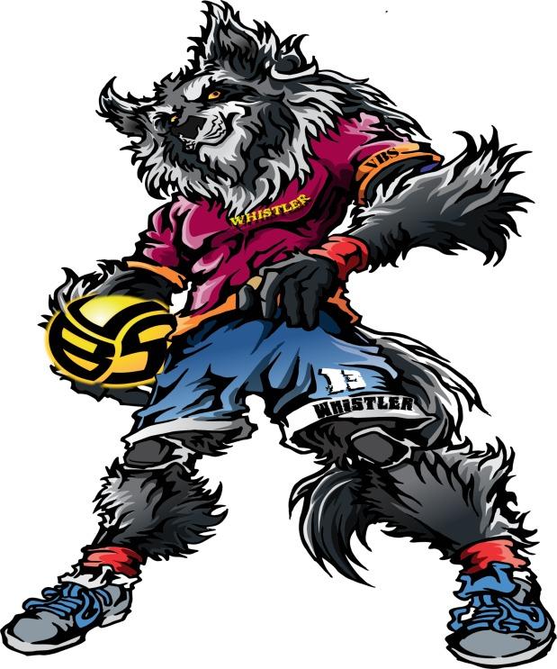 Volleyball T-Shirt Ideas Meet Whistler the Volleybragswag Wolf Universal All Beast Second Team
