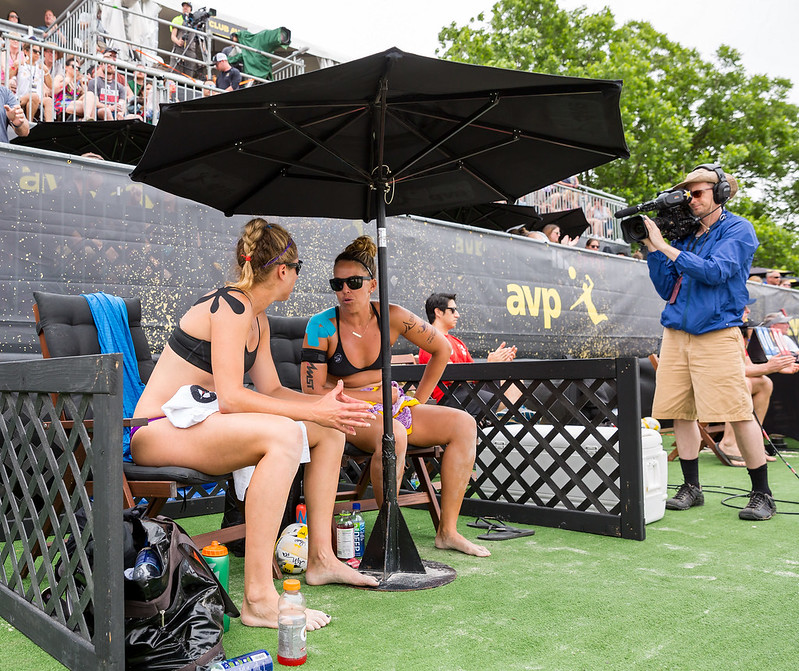 Beach Volleyball Rules: There are two (2) timeouts per set with a duration of 30 seconds each. Only one (1) injury timeout per player per match is allowed.(Ralph Aversen)