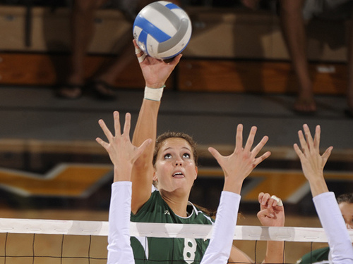 The College Middle Blocker Volleyball Athletes from the Big West Conference Answer Interview Questions - Jennifer Keddy