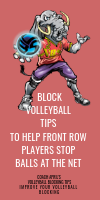 Block Volleyball Tips To help Front Row Players Stop Balls At The Net by April Chapple