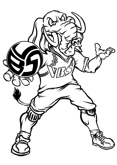 Volleybragswag Elephant Coloring Pages