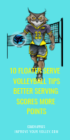 10 Floater Serve Volleyball Tips:Better Serving Scores More Points