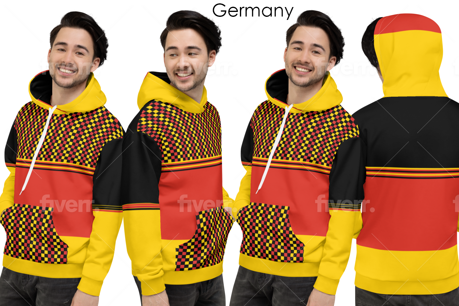 The National Flag of German Inspires Designs For Volleyball Outfits