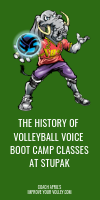 The History of Volleyball Voice Boot Cap Classes at Stupak