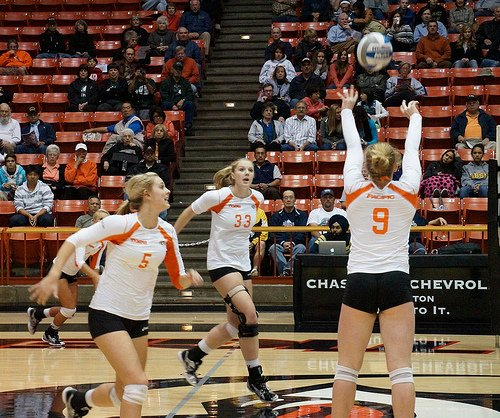 What is set in volleyball? Volleyball setters often use the