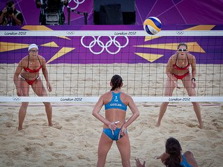Kerri Walsh and Misty May  (Alex Groundwater)