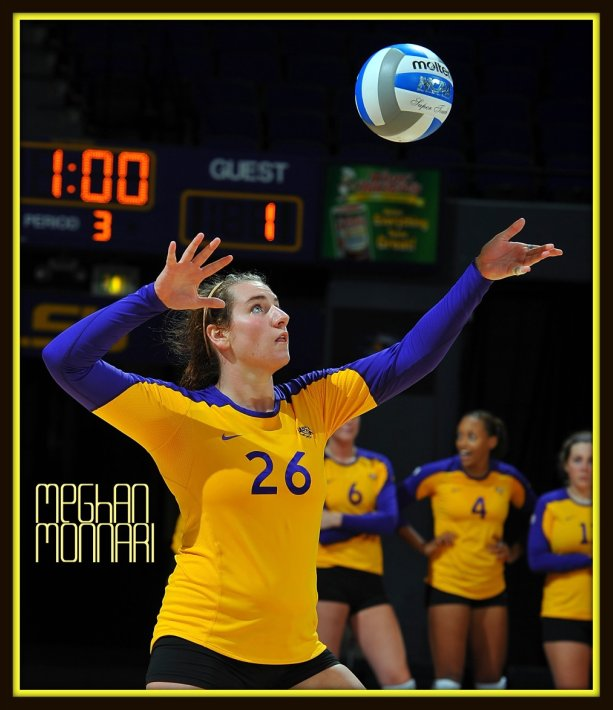 No matter what, serving the ball to the right front position in the front row gives the opposing team's setter much less time to track the ball, stop, then set the ball to one of her front row players