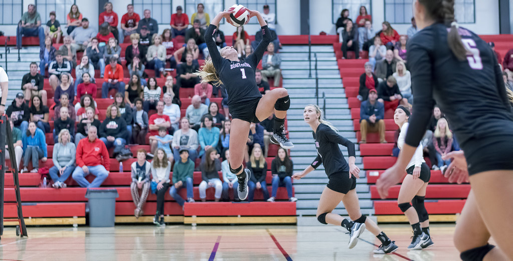 Usually teams with one strong setter play a 5 - 1 volleyball offense. That's one setter and five other players on the offensive team. (Al Case)
