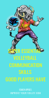 Super Essential Volleyball Skills Good Players Have by April Chapple