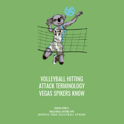Volleyball Hitting Attack Terminology Vegas Spikers Know