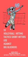 10 Volleyball Hitting tactics Short Hitters Use Against Big Blockers by April Chapple