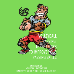 Volleyball Passing:3 Tricks To Improve Your Passing Skills by April Chapple