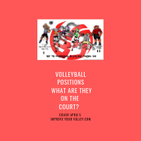 Volleyball Positions What Are They on the Court? by April Chapple