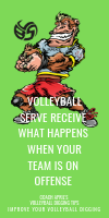 Volleyball Serve Receive What Happens When your Team Is On Offense by April Chapple