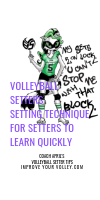 Volleyball Setters Setting Technique For Setters To Learn Quickly by April Chapple