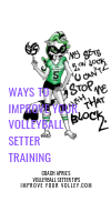 Ways To Improve Your Volleyball Setter Training by April Chapple