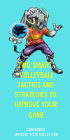Two Smart Volleyball Tactics and Strategies To Improve Your Game by April Chapple