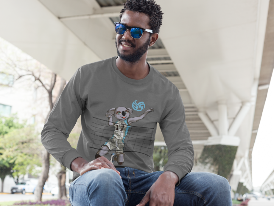 Shop the Coco the Volleybragswag Koala shirts, sweatshirts, hoodies and long sleeve shirts for men women and youth are available on Amazon Prime.