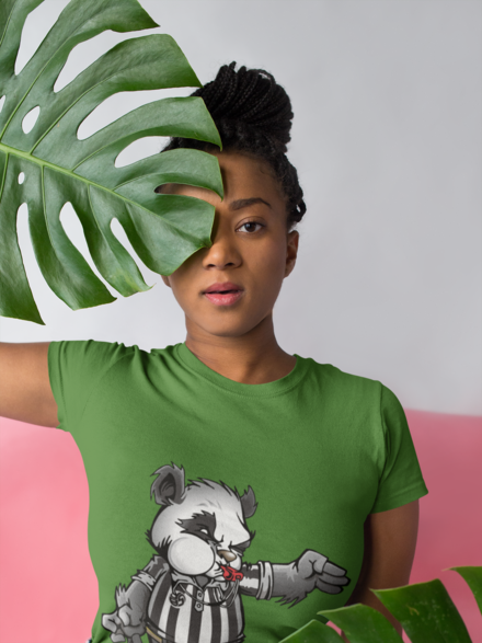 Cool Volleyball Animal T Shirt Designs Feature Panda