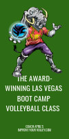 The Award-winning Las Vegas Boot Camp Volleyball Class