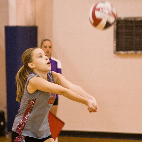 Here are some beginner volleyball drills you can do at home (David Armstrong)