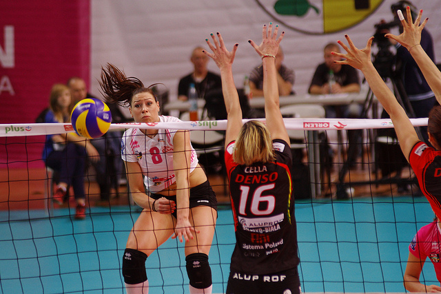 Your attack hit happens after your setter or another player has delivered the ball to you to ideally, take a three step or four step spike approach to hit it over the net. (Jaroslaw)
