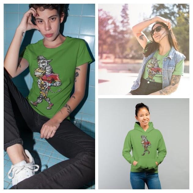 Shop your next Volleybragswag Zebra shirt now!