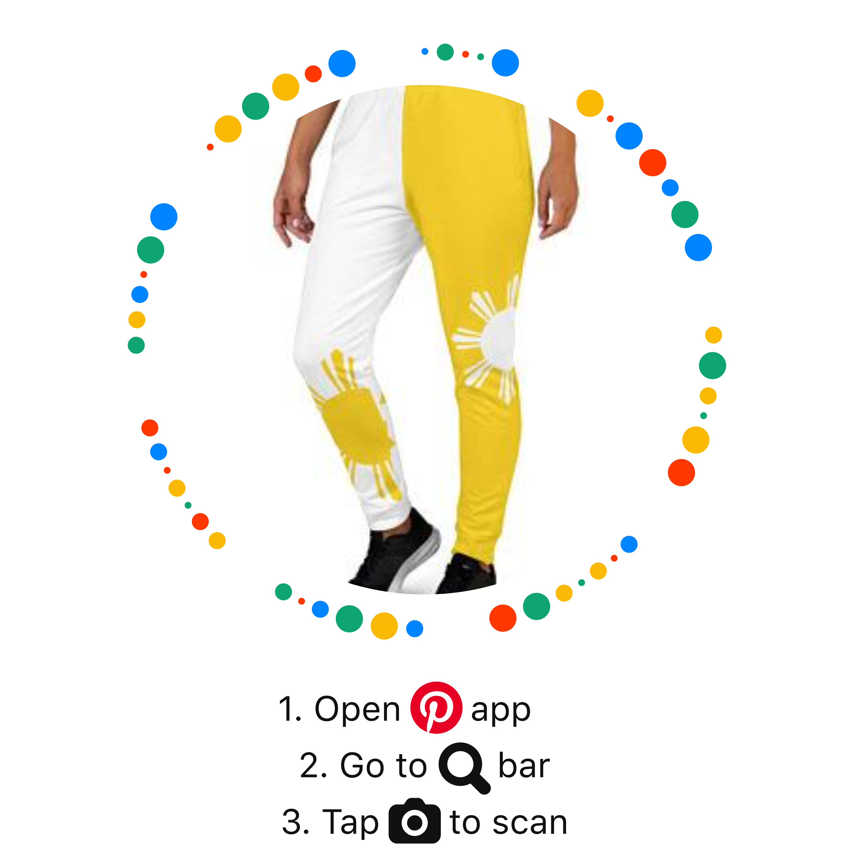Yellow Jogger Pants by Volleybragswag